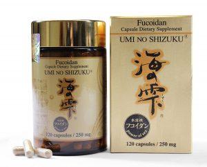 Thuốc hỗ trợ điều trị ung thư Fucoidan Umi No Shizuku hiện đang rất được ưa chuộng.