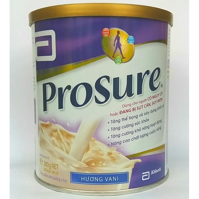 Ung thư phổi nên uống sữa gì? - Sữa prosure