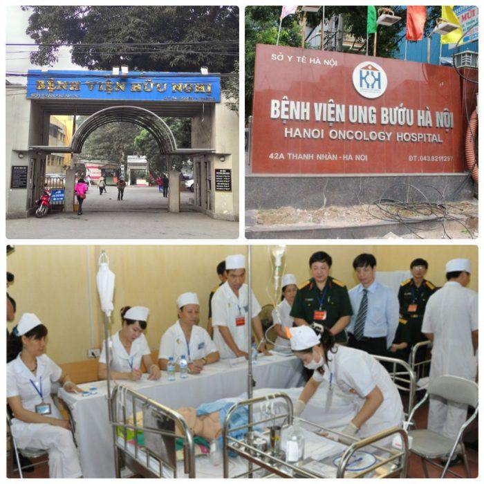Các bệnh viện đầy đủ cơ sở vật chất cho việc tầm soát ung thư cổ tử cung