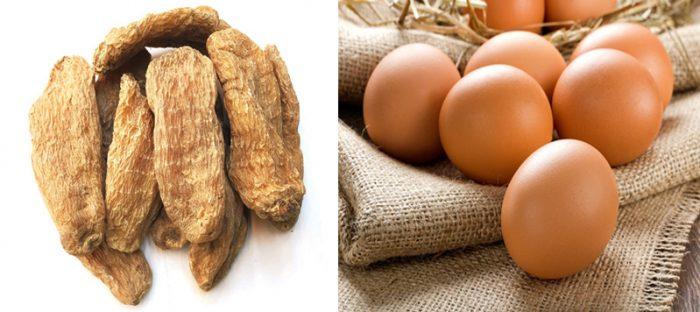 Bài thuốc Nam từ trứng gà và thiên ma trị K xương cực tốt.