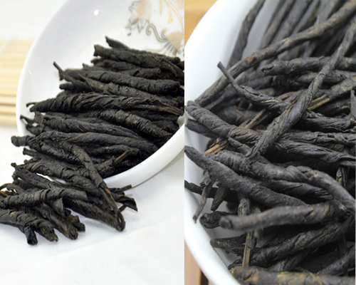 Hãm nước lá chè đắng khô có mùi thơm đặc trưng, đắng trước sau ngọt