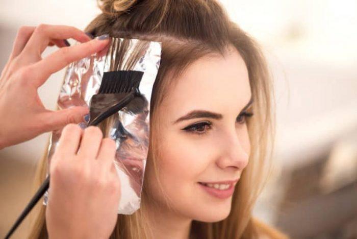Thuốc nhuộm tóc rất hại cho da đầu