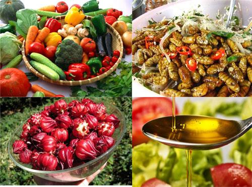 Người bị gan nhiễm mỡ nên bổ sung rau xanh, hoa quả, dầu thực vật