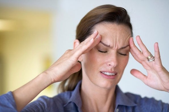 Bệnh nhân thường xuyên đau đầu, mệt mỏi