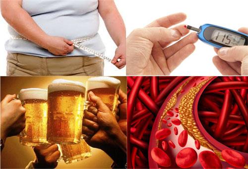 Nguyên nhân gan nhiễm mỡ là do: Béo phì, nghiện bia rượu, mỡ trong máu cao, tiểu đường...