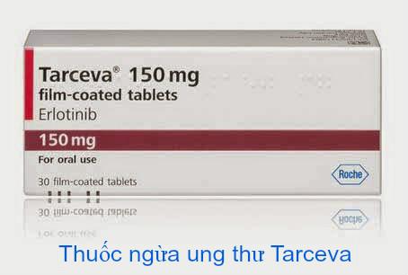 Một số lưu ý khi sử dụng thuốc ung thư phổi Tarceva