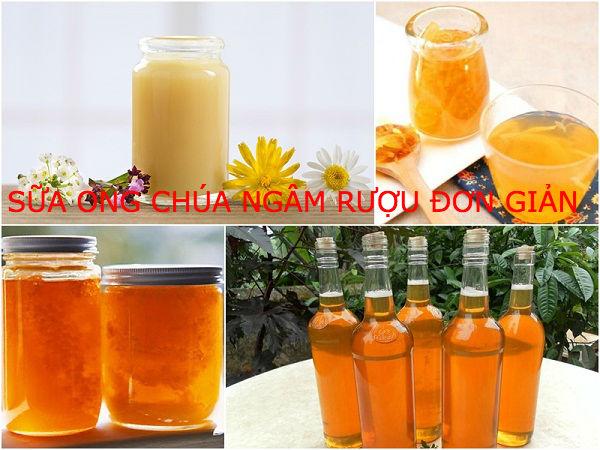 Sữa ong chúa có cách ngâm đơn giản, là thức uống nhiều người yêu thích