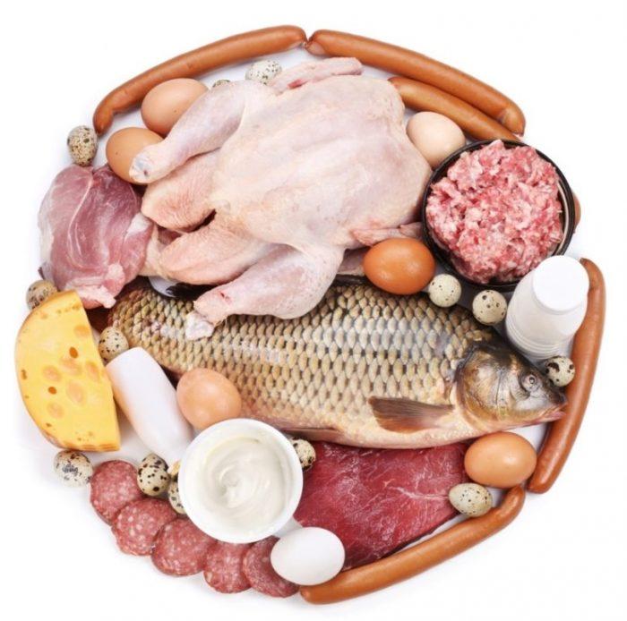 Các thực phẩm giàu chất đạm là thức ăn tốt cho người bị ung thư phổi