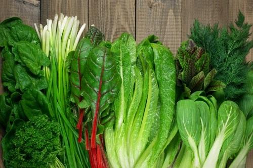 Thực đơn cho bệnh nhân ung thư phổi cần bổ sung nhiều rau xanh