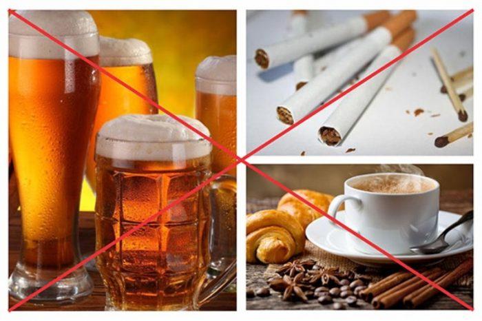 Không nên dùng các chất kích thích để có sức khỏe toàn diện