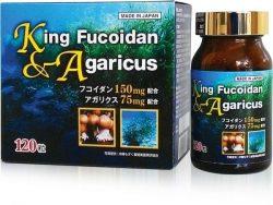Thuốc chữa bệnh ung thư Nhật Bản -King fucoidan & Agaricus