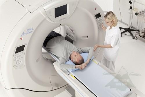 Chụp CT là một trong những phương pháp chuẩn đoán ung thư đại tràng sớm