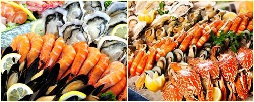Trong quá trình chữa trị K phổi, người bệnh tuyệt đối không ăn hải sản