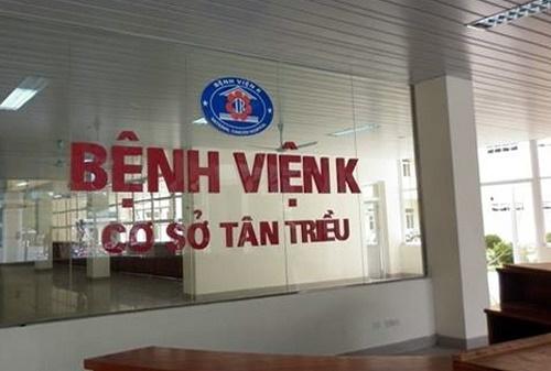 Bệnh viện K Tân Triều Hà Đông Hà Nội chuyên khám ung bướu