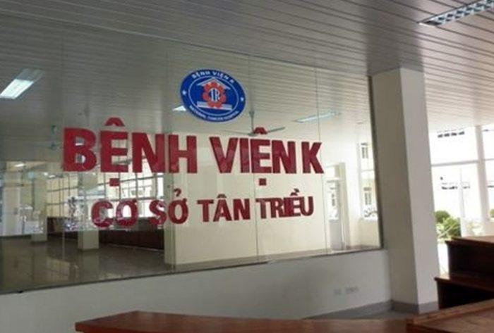 Bệnh viện K Tân Triều địa chỉ - Di chuyển đến bệnh viện K