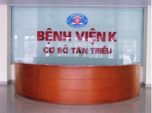Bệnh viện K cơ sở 3 Hà Đông Hà Nội
