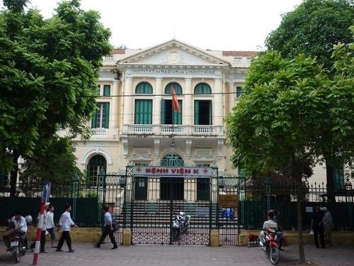 Phòng khám dịch vụ bệnh viện K Hà Nội
