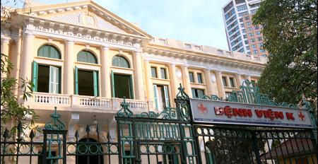 Địa điểm bệnh viện K Hà Nội có 3 cơ sở