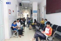 Bệnh nhân đến khám tại khoa khám bệnh theo yêu cầu bệnh viện đa khoa Thái Nguyên