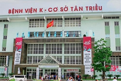 Bệnh viện K – Cơ sở mới Tân Triều