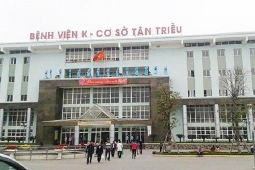 Địa chỉ bệnh viện K cơ sở Hà Đông