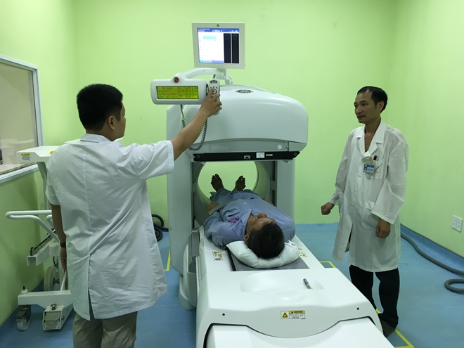 Trang thiết bị bệnh viện hiện đại