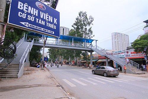 Vị trí bệnh viện K Tân Triều