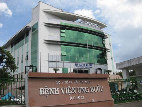 Cơ sở 2 Bệnh viện Ung bướu TP HCM.