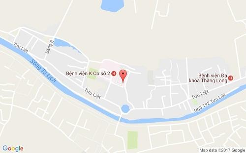 Bản đồ đường đi đến bệnh viện K Tựu Liệt