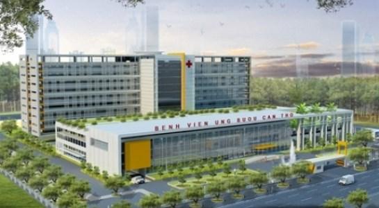 Bệnh viện Ung Bướu Cần Thơ với quy mô hơn 500 giường bệnh
