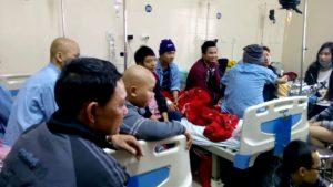 Bệnh nhân điều trị ung thư tại bệnh viện K3 Hà Nội