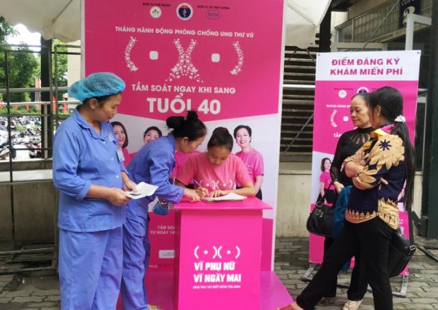 Bệnh viện Ung bướu Hà Nội tư vấn tầm soát ung thư vú định kỳ