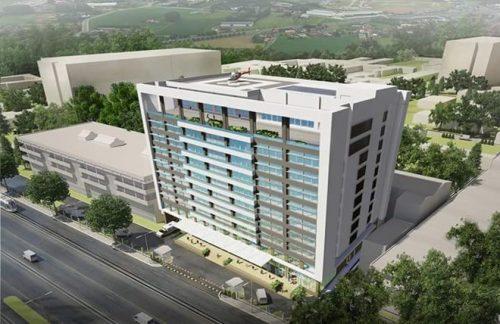 Dự kiến mô hình Bệnh viện Ung bướu cơ sở 2 Cần Thơ khi hoàn thành.