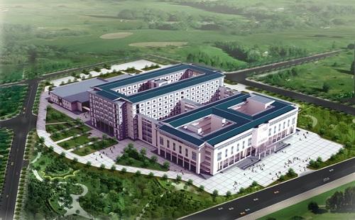 Dự kiến quy mô Bệnh viện ung bướu Hà Nội cơ sở 3 giai đoạn 2.