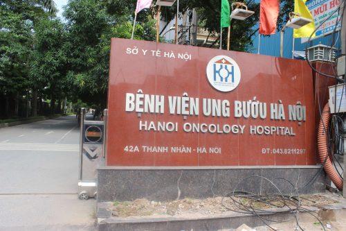 Bệnh viện Ung bướu Hà Nội Hai Bà Trưng Hà Nội.