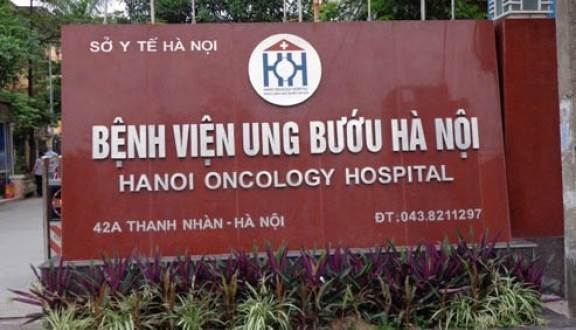 Bệnh viện ung bướu Hà Nội ở số 42A Thanh Nhàn - Hà Nội