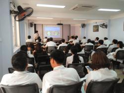 Đào tạo chuyên ngành chuyên sâu cho đội ngũ nhân viên bệnh viện Ung bướu Hà Nội Thanh Nhàn Hà Nội