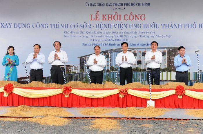Bệnh viện Ung Bướu quận 9 được khởi công từ năm 2016