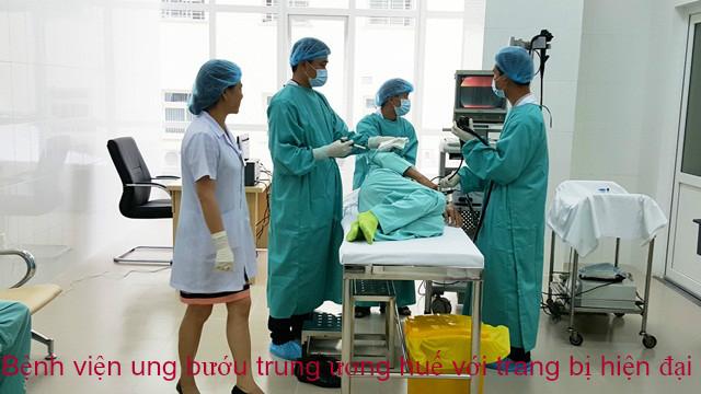 Bệnh viện Ung bướu Trung ương Huế với trang thiết bị hiện đại