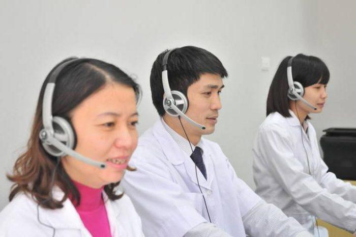 Đội ngũ tư vấn và chăm sóc bệnh nhân của bệnh viện Ung bướu