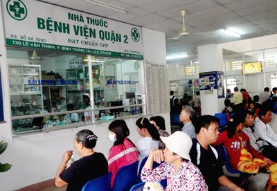 Bệnh viện quận 2 luôn có đông bệnh nhân tới khám và điều trị