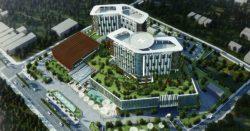 Hình ảnh mô phỏng bệnh viện Ung Bướu TpHCM cơ sở 2 khi hoàn thành