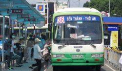 Tuyến xe 36 một trong các tuyến xe buýt đi qua bệnh viện ung bướu TP HCM