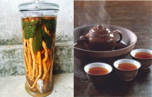 Có thể sử dụng sâm đá để pha trà, ngâm rượu
