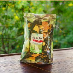 Một số sản phẩm lá gan phơi khô được bán trên thị trường
