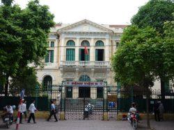 Địa chỉ bệnh viện K cơ sở 1 tại số 43 Quán Sứ, Hoàn Kiếm, Hà Nội.
