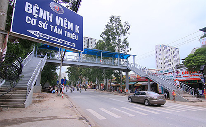 Bảng chỉ dẫn địa chỉ bệnh viện K3 Hà Nội