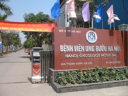 Địa chỉ Bệnh viện U bướu Hà Nội tại 42A Thanh Nhàn, Hai Bà Trưng, Hà Nội