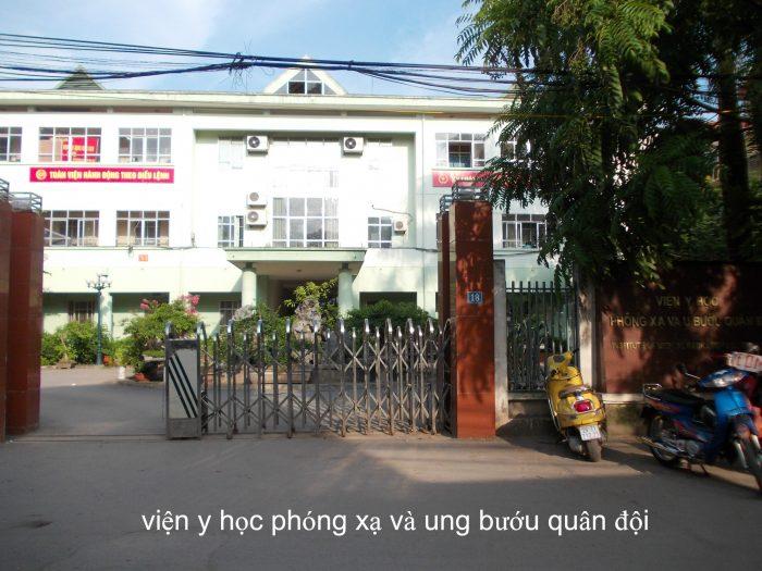 Địa chỉ Bệnh viện Ung bướu quân đội Hà Nội