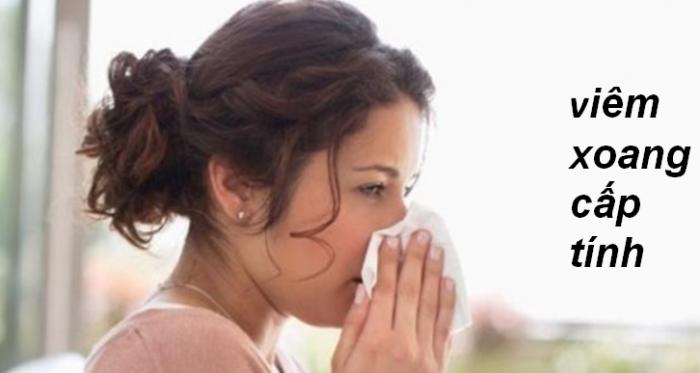 Hạ khô thảo có tác dụng với viêm xoang cấp tính